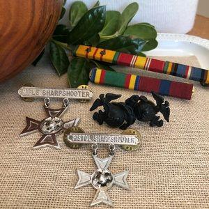 Vintage Vietnam War Ribbons and Medals